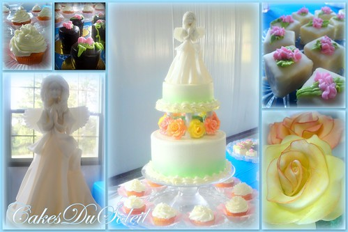 Memorial Cake and Dessert Table
