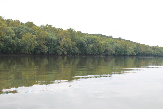 The banks of the James River