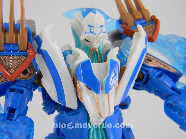 Transformers Thundertron Voyager - Prime RID - modo robot