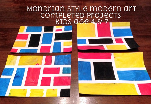 home is where they send us...: More Modern Art for Kids: Piet ...