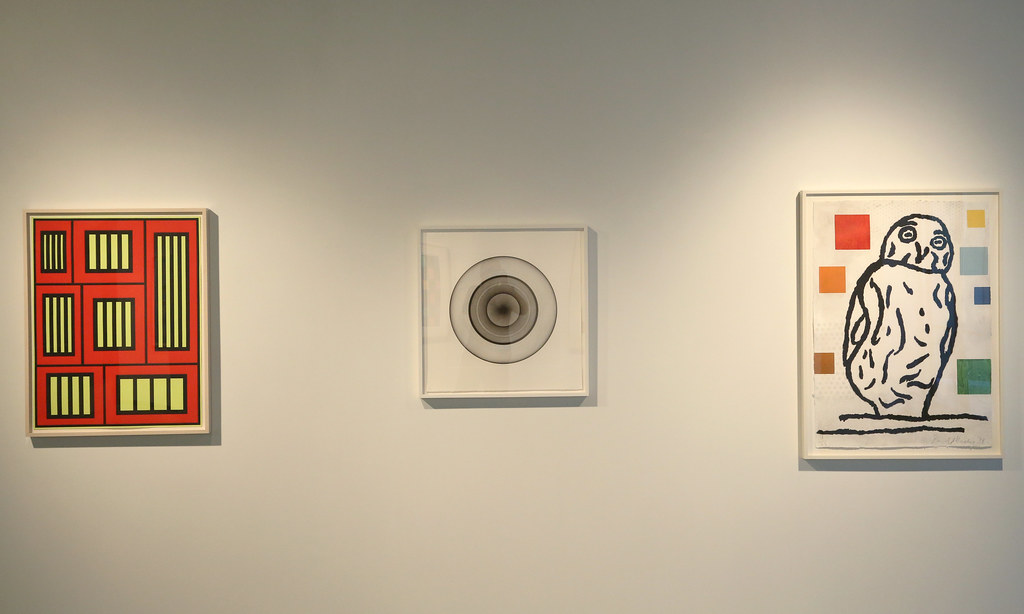 Selections from the collection of the Pace Gallery, currently on display in the Bibliowicz Gallery in Milstein Hall. The exhibition is on display October 2013.