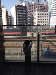 新宿で電車を見る 2013/9