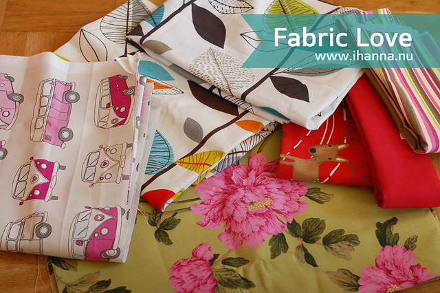 Getting Free Fabric in the Mail