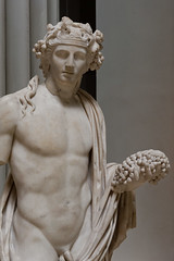 dyonisos  Dionysos - I | Marble statue of the wine-god Dionysos holdin… | Flickr