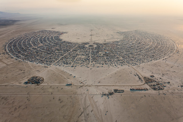 Burning Man 2013 Aerial Photo