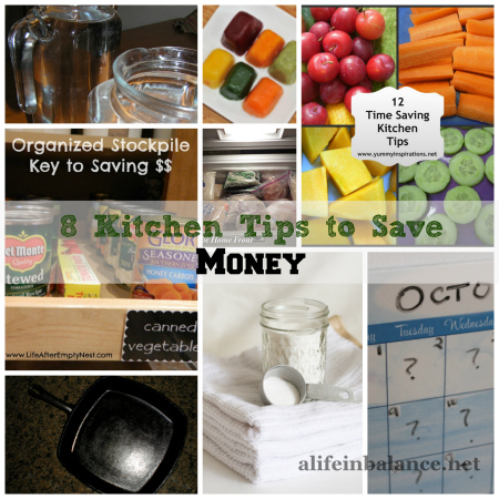 8 Kitchen Tips to Save Money