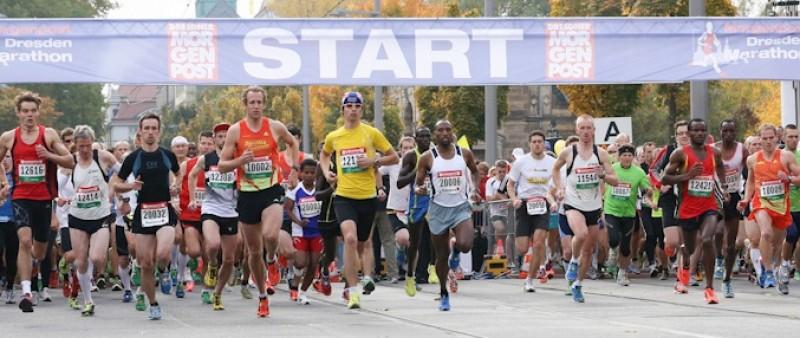 Maraton v Drážďanech: Skvělé počasí přálo rychlým časům