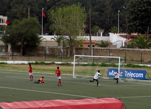 بطولة الشباب في ملعب البلدي بخميسات : اتحاد زموري و اتحاد الاسلامي وجدة