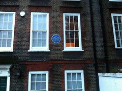 Photo of Carol Reed blue plaque