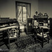 Historic Accounting desks in office by tibchris