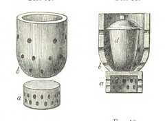 """British Library digitised image from page 123 of """"Manual of practical assaying"""""""
