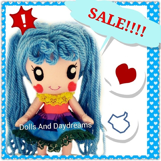First Ever Sale! #blackfriday #sale #sewingpattern #dollpattern #dolls #kawaii #cute #dollsanddaydreams