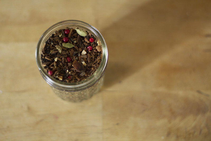 jar of cinnamon tea