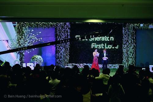 20131207青岛绿城喜来登酒店婚礼秀