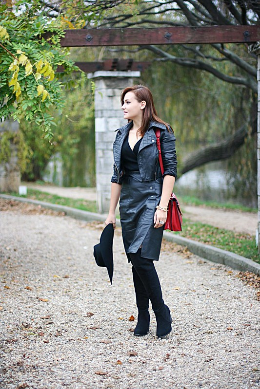 witch leather 4, leather skirt, Harry potter half blood prince