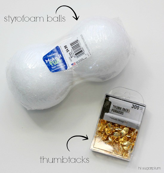 Hi Sugarplum | DIY Decorative Ball