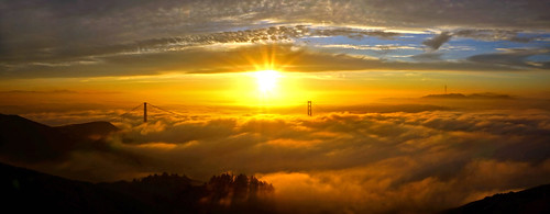 Hawk Hill Sunrise - November 30, 2013