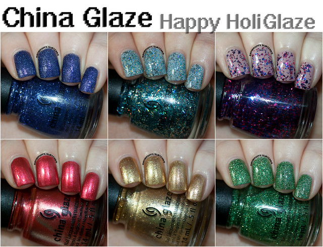 China Glaze Happy HoliGlaze Collection (1)