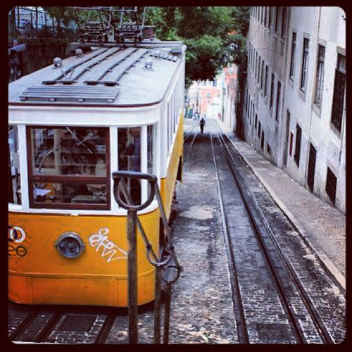 #lisboa all tramways street #travel #tourism