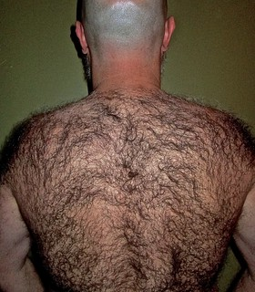 hairy back shaving