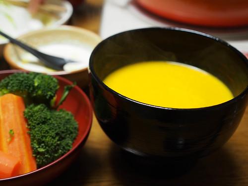 カボチャスープ-2
