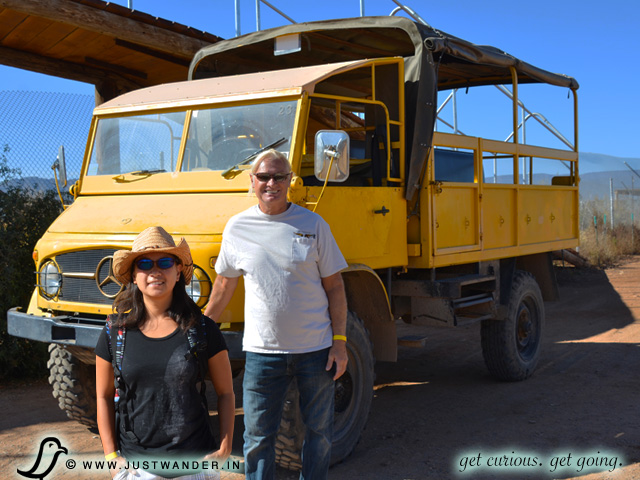 PIC: Out of Africa Wildlife Park - Unimog