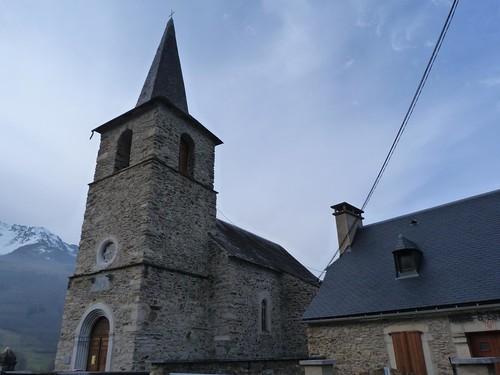 Pueblo pirenaico cercano a Saint-Lary (Francia)