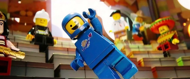 The LEGO Movie: Blue Spaceman