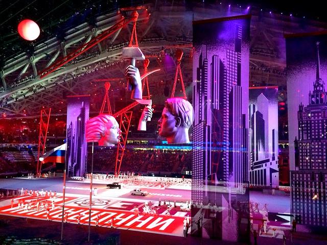 Opening Ceremony #Sochi2014