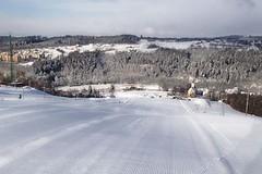 Hlubočky - lyžařská hora na Hané