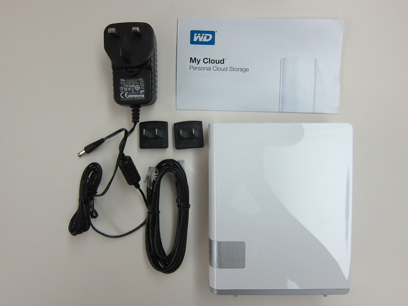 WD My Cloud - Box Contents
