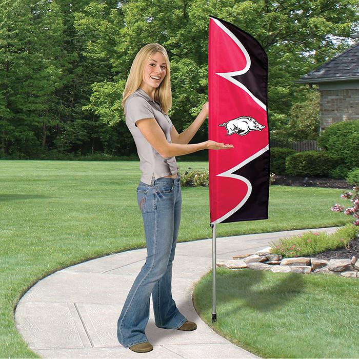 Arkansas Short Feather Flag