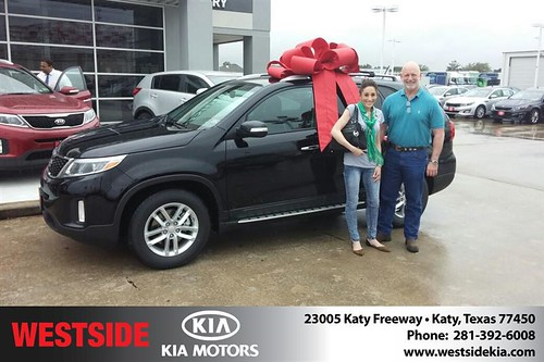 Congratulations to Katie Baker on your #Kia #Sorento purchase from Landry Boris  at Westside Kia! #NewCar by Westside KIA