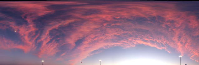 IotW 03-17-14: Sunset Cloud Arc