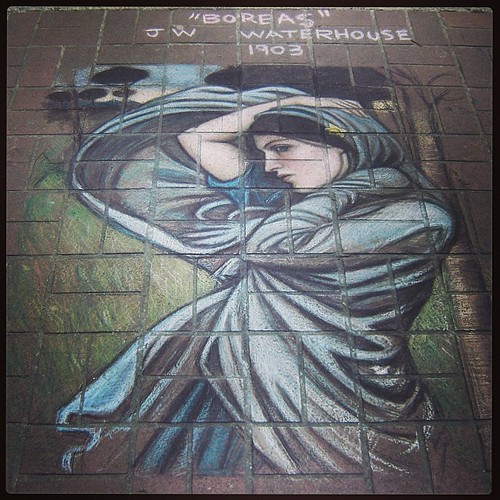 #fmsphotoaday March 18 - Five years ago. I was working in downtown Victoria, BC, and often came across gorgeous works of chalk art on my walk to the office.