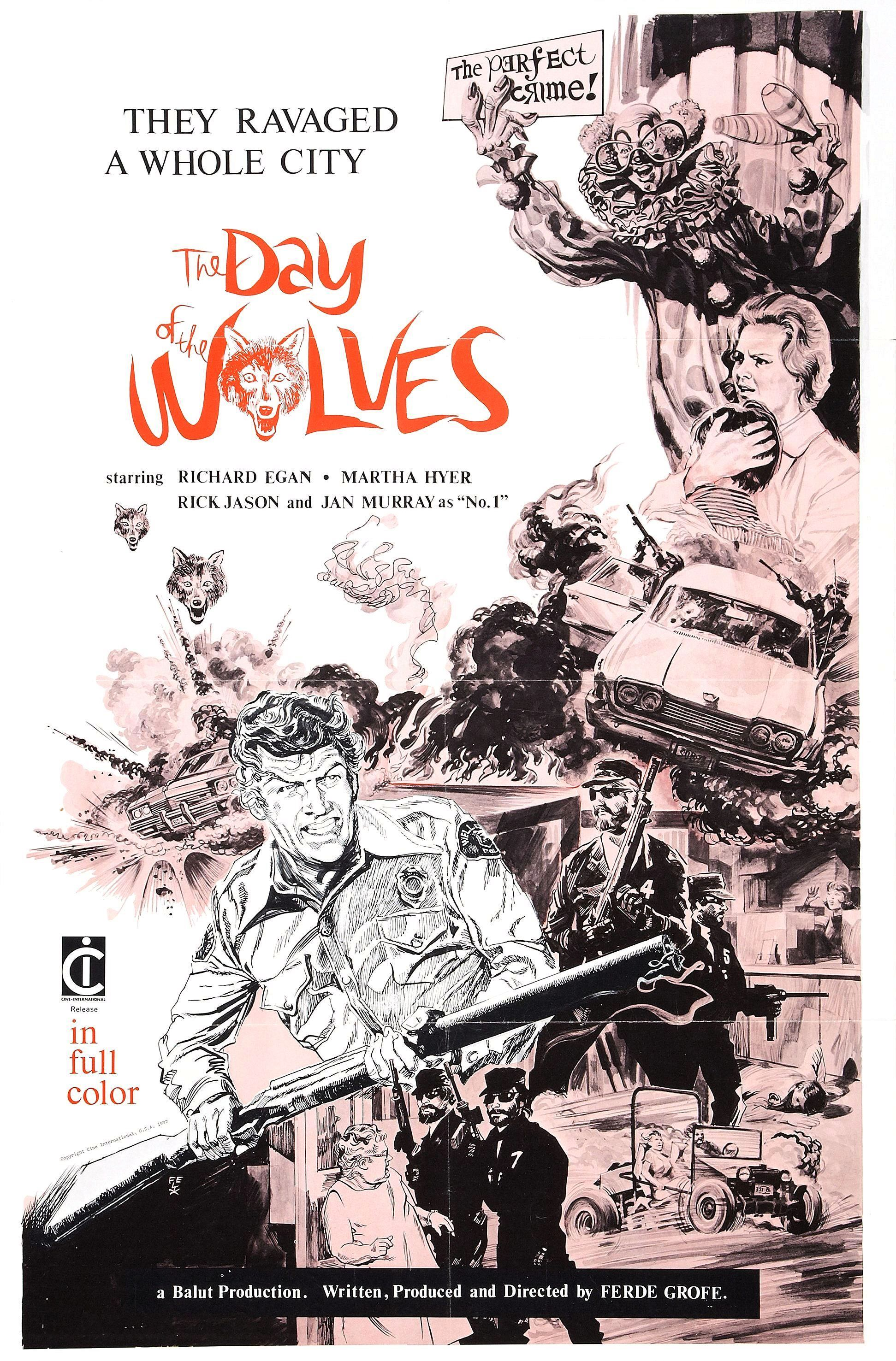 The Day of the Wolves (1971)