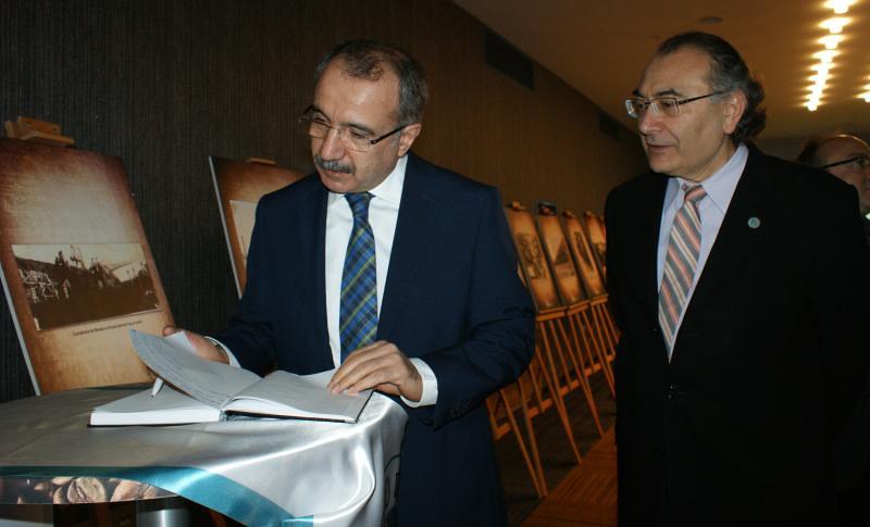 Üsküdar Üniversitesi Milli Eğitim Eski Bakanı Ömer Dinçer'i ağırladı 2