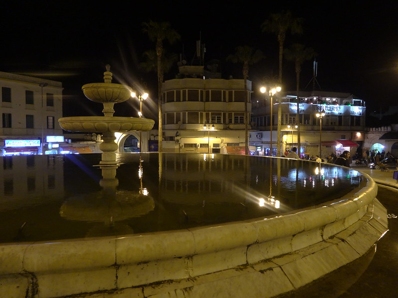 Fountain, main square