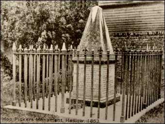 Hoppers memorial pre WW2