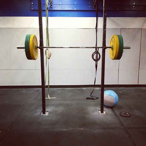 Some #OPT and pause squats this morning at @crossfitfringe.