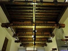 Techumbre del palacio de Alfonso XI (Museo Arqueológico Nacional)