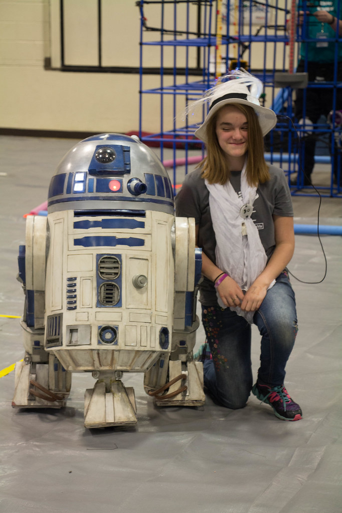 R2D2 and Fan