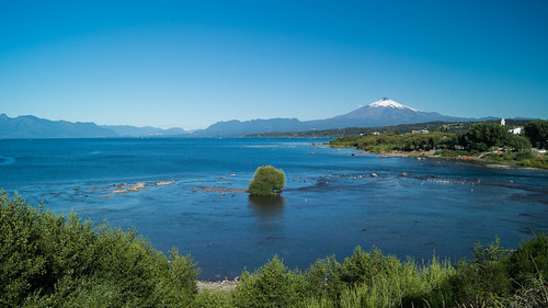 villarica ixregión chile araucania volcan landscape