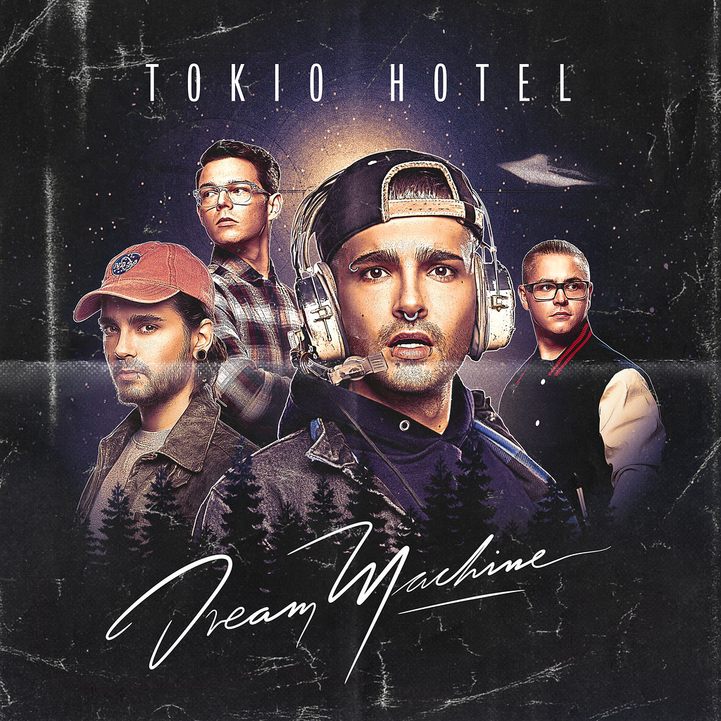 Tokio Hotel - Dream Machine - Capa disco