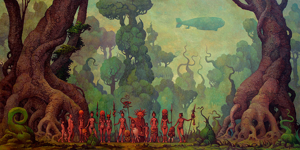 The Jungle by Michael Hutter