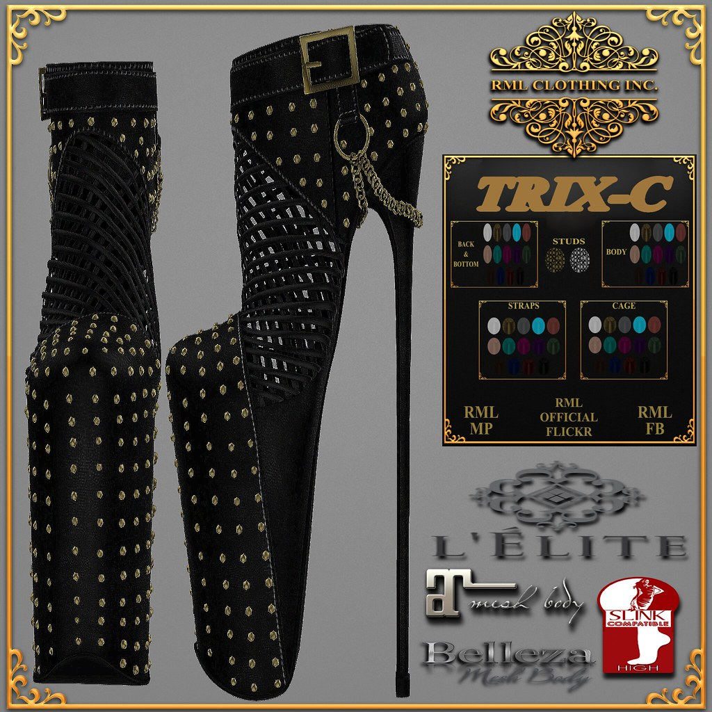 RML TRIX-C BOOTS OFFICIAL AD-FOR L'ELITE EVENT - SecondLifeHub.com