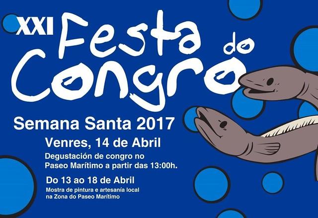 Muxía 2017 - XXI Festa do Congro - cartel