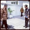 : Presiden Joko Widodo memberi hormat kepada presiden keenam RI, Susilo Bambang Yudhoyono, Kamis 9/3 untuk memperbincangkan berbagai isu dan masalah aktual di Tanah Air.