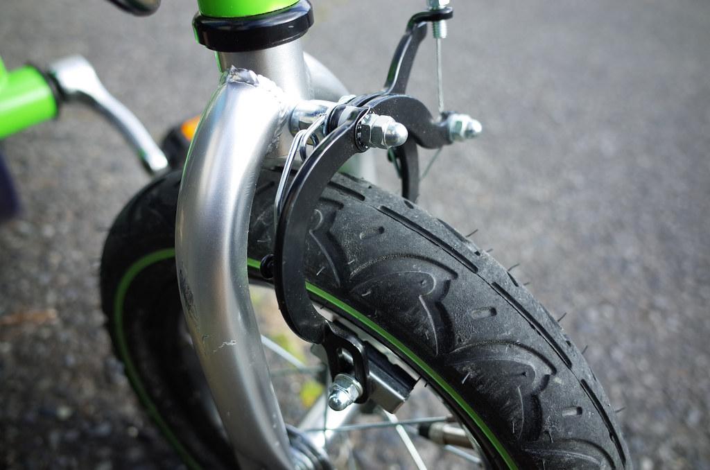 へんしんバイク 前輪ブレーキ