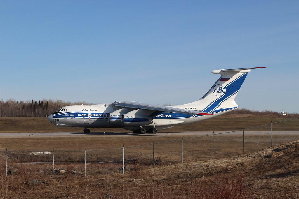 Volga-Dnepr Ilyushin Il-76TD-90VD RA-76951